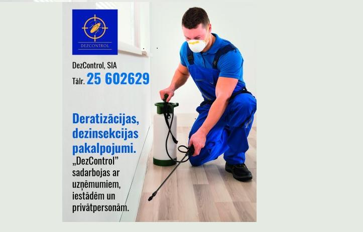 Услуги дезинфекции в Риге